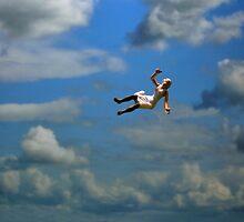 Falling, White by Mark Crummett