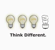 Think Different. by Feranmi Quadri