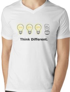 Think Different. Mens V-Neck T-Shirt