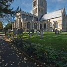 Melton Mowbray Church in Autumn by StephenRB