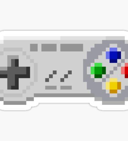 8Bit SNES Controller Sticker