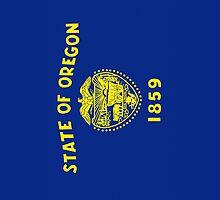 Smartphone Case - State Flag of Oregon by Mark Podger