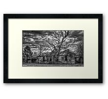 The Coming Storm (B&W) Framed Print