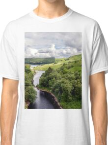 Wales, Pen Y Garreg Classic T-Shirt