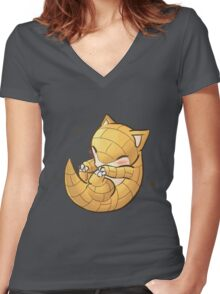 Baby Sandshrew Women's Fitted V-Neck T-Shirt