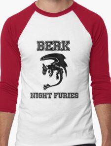 Berk Night Furies Men's Baseball ¾ T-Shirt