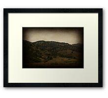 Vintage Denver Framed Print