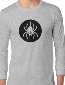 Halloween Spider Symbol Ideology Long Sleeve T-Shirt