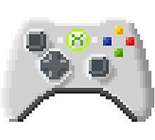 8Bit Xbox Controller Photographic Print