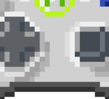 8Bit Xbox Controller Sticker