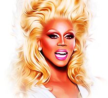 RuPaul - Supermodel - Pop Art by wcsmack