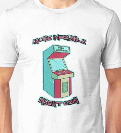 Insert Coin - Time Machine Unisex T-Shirt