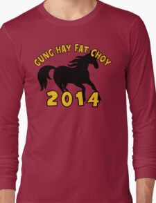Happy Chinese New Year 2014 Long Sleeve T-Shirt