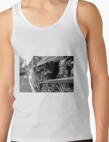 """Steam Engine """"All Aboard"""" Tank Top"""