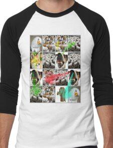 MERDE Men's Baseball ¾ T-Shirt
