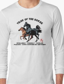 Chinese Zodiac Year of The Horse Long Sleeve T-Shirt