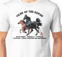 Chinese Zodiac Year of The Horse Unisex T-Shirt