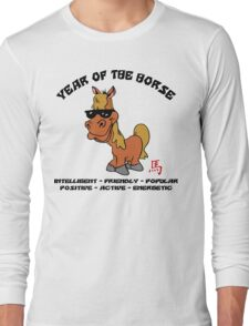 Funny Year of The Horse Long Sleeve T-Shirt