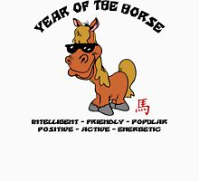 Funny Year of The Horse Unisex T-Shirt