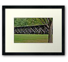 Beautiful Trestle Framed Print