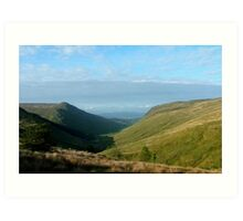 Glengesh Pass Art Print