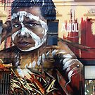 Fitzroy Graffiti by Adnate by Roz McQuillan