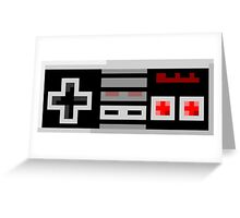 8Bit NES Controller Greeting Card