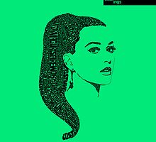 Katy Perry Green by seanings