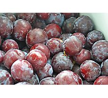 Peter's Plums  Photographic Print