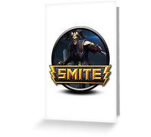 Smite Loki Logo Greeting Card
