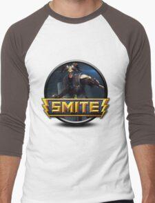 Smite Loki Logo Men's Baseball ¾ T-Shirt