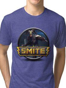 Smite Loki Logo Tri-blend T-Shirt