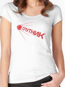 Sputnik 1957 Special Women's Fitted Scoop T-Shirt