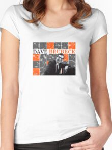 Dave Brubeck - Jazz Master Women's Fitted Scoop T-Shirt