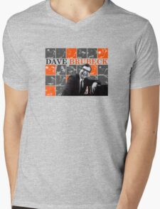 Dave Brubeck - Jazz Master Mens V-Neck T-Shirt