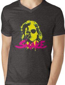 Straight Up Snake Mens V-Neck T-Shirt
