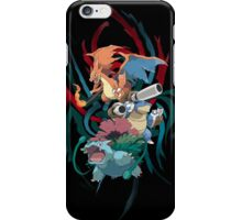 Mega Kanto Stater Evolutions iPhone Case/Skin