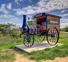 What  A Beauty  Train Greenethorpe NSW by Kym Bradley