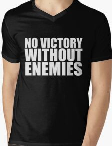 No Victory Without Enemies Mens V-Neck T-Shirt