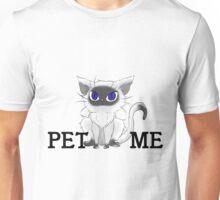 Fluffy Cat - Pet Me Unisex T-Shirt