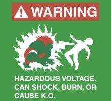 Electric Shock Hazard by D4N13L