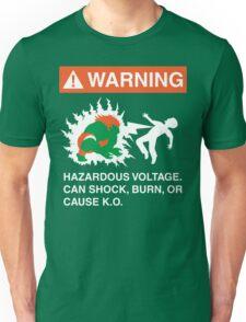 Electric Shock Hazard Unisex T-Shirt