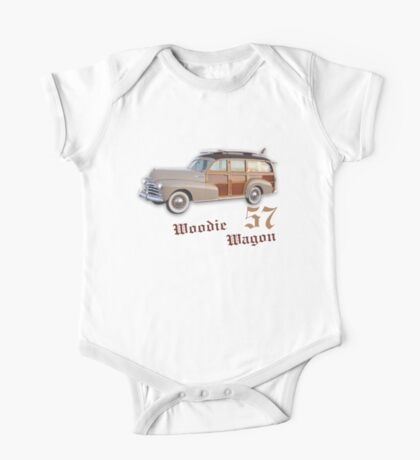 Woody Wagon 57 One Piece - Short Sleeve