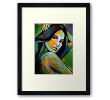 """Gracefulness"" Framed Print"