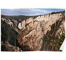 Lower Falls - Yellowstone National Park Poster