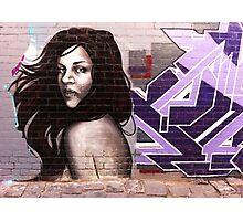 Melbourne Graffiti by Aida Photographic Print