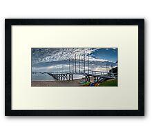 Sorrento Sailing - Couta Boat Club Framed Print