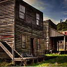 Cowboy town by Gerard Rotse