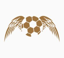 Soccer Ball Angel Wings Logo by Style-O-Mat