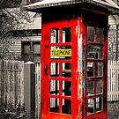The old telephone cabin by Gerard Rotse